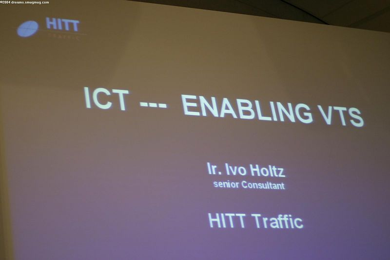 HITT traffic presentation on IT in naval logistics
