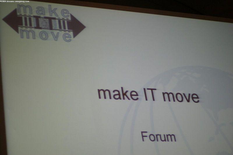 Speaker forum