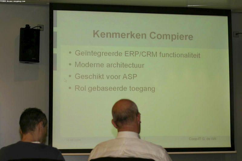Talking Compière, an open source ERP solution