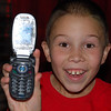 Grayson gets a text message from his dad!  Go Clayton Climate Savers!