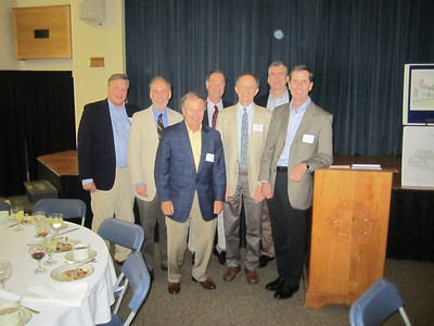 2011 Reunion: Jamie Jones, Charlie Green, Austin Smith, Bill Truesdale, Tim Parson, Ames Abbott and Peter Nordblom.