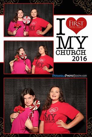 First (1st) Baptist Church Milton 10-16-2016