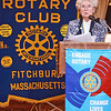 SENTINEL&ENTERPRISE/ Ashley Green -- Former Fitchburg Mayor Mary Whitney speaks during the Fitchburg Rotary Club's Paul Harris Night held at the Fay Club on Tuesday evening. Paul Harris is known to be the founder of Rotary and yearly awards are given out in his name.