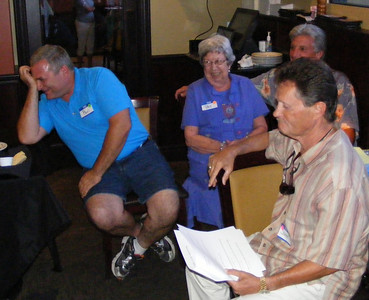It is hard to believe, but these experienced Rotarians missed a question about the Four Way Test!