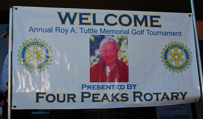 The 15th Annual Roy A. Tuttle Memorial Golf Tournament Saturday, April 6, 2013 Type in your last name in the search box above to find photos of you!