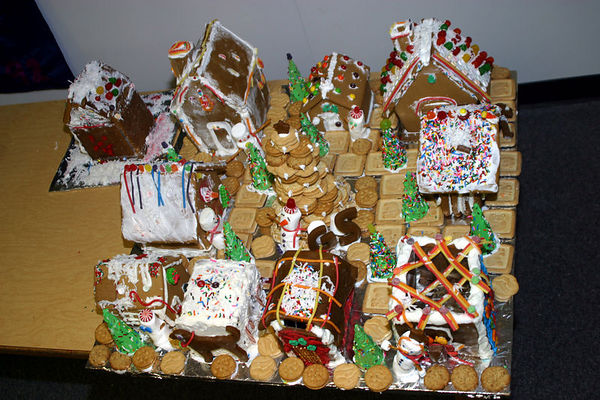 Girl Scouts Gingerbread Village 20051121