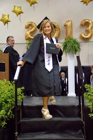 2013 Meridian High School Graduation