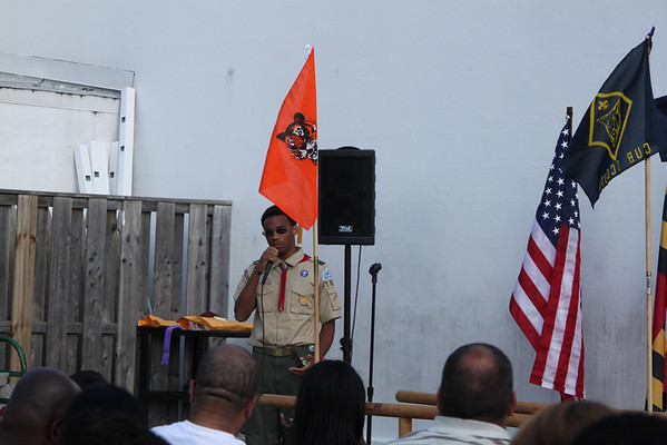 Pack 1657 Cub Scout Graduation 2012
