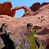 Dancing with fire in Valley of Fire National Park.