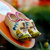 Dutch wooden shoes as in Bellagio Garden