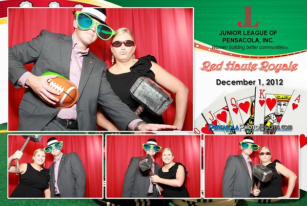 Junior League of Pensacola Red Haute Royale 12-1-2012