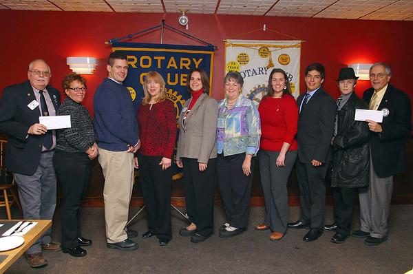 Leominster & Fitchburg Rotary Checks