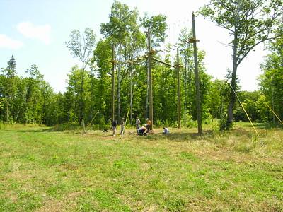 Michigan Tech High Ropes Training