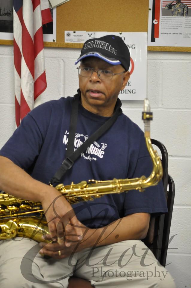 Woody Douglas, Saxophone