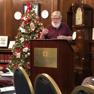 NEHGS Bob Anderson 2017-12-09