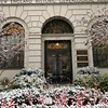 Boston: NEHGS: Entrance with fresh snow