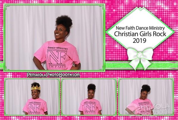 New Faith Dance Ministry - Christian Girls Rock 1-26-2019