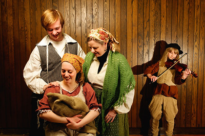2012 Fiddler on the Roof promo photos