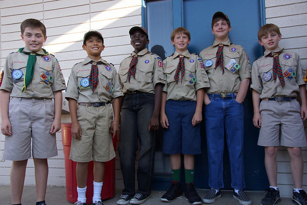 Pack 802 Cub Scouts Bridging Ceremony