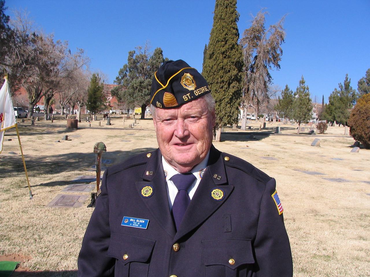 Bill Olsen, Adjutant and shooter  07