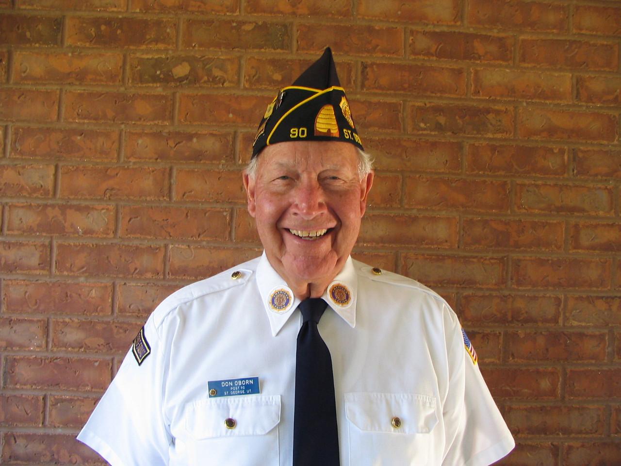 Don Oborn, Commander Post 90,   06