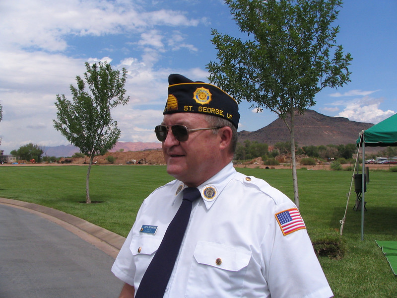 Past Commander, Leo Richardson, Chaplain, Shooter