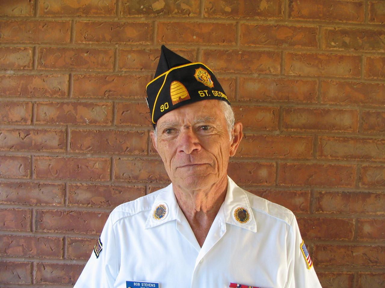 Bob Stevens, 1st Vice Com.06