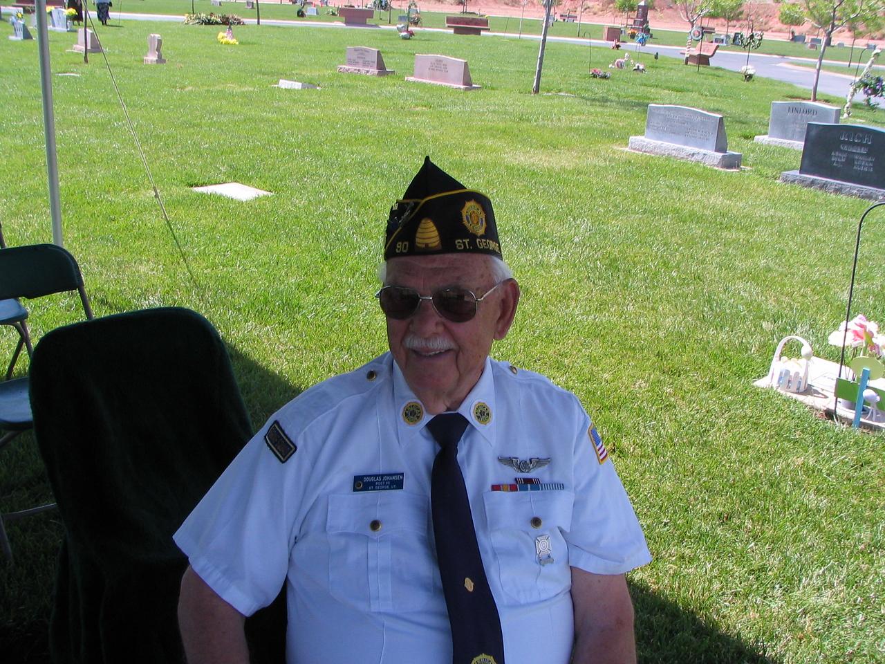 Douglas Johansen, Past 1st Vice and shooter.