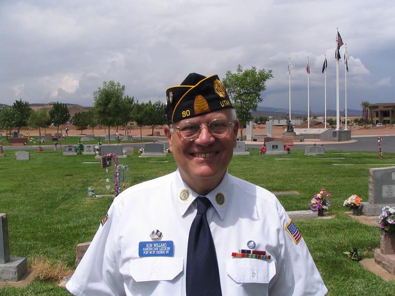 Ron Willard, 2nd Vice, Shooter. 07