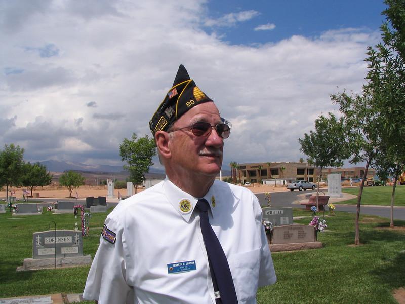 Ken Larsen,  1st Vice, 2007, Shooter