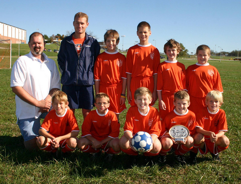 Predators soccer team 2004