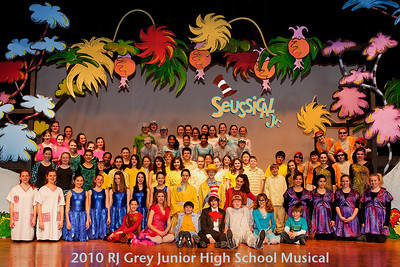 Seussical cast portrait