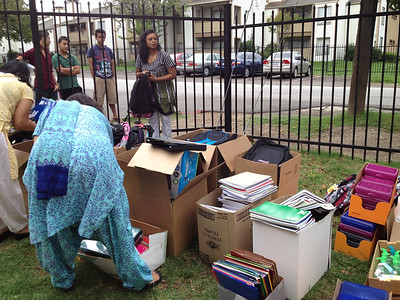 SEVA: BIBS(Bhutanese Immigrant Back to School Drive)
