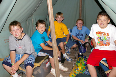 June 2006: Schuylkill Haven Pack 625 attend Webelos Extended Camp