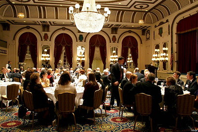 Independent Insurance Agents of Virginia congratulatory dinner for Senator John Chichester at The Jefferson Hotel in Richmond.