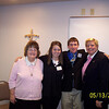St. Stephen Parish - Sharon Wahl, Stacy Georges, Andrew Owens and Audrey Ann Wilson.