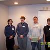 Tim Andrus, Michael Schantz, Christopher Gerding and Adam Kozlowski.