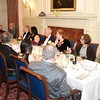 Burns Night: Group in Dining Room listening to Louis Raymond singing