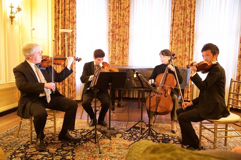 Club Night: Borromeo String Quartet: Starting Bach's Goldberg Variations