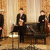 Club Night: Borromeo String Quartet: Bows after Mendelssohn String Quartet #2