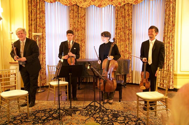 Club Night: Borromeo String Quartet: Bows after Bach's Goldberg Variations
