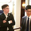 St Botolph Club: Colin and Daniel and talking to guests after concert