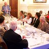 St Botolph Club: Fred Meyer toasting Roger Howlett for service as Program Committee Chair