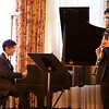 St Botolph Club: Daniel and Colin performing