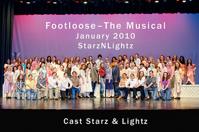 2010.01 Footloose Cast Photos