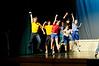 Dress rehearsal for StarzNLightz production of Footloose at Littleton High School, Littleton, MA.
