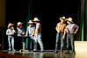Dress rehearsal for StarzNLightz production of Footloose at Littleton High School, Littleton, MA.