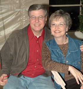 Gary Morgan and wife Debbie