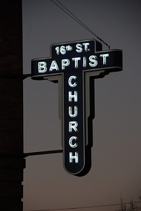 16th Street Baptist Church (Sign Only)