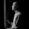 Young Monk (释 大光 杭州 中天竺)---  Mitchell Gallery, West Chester University, Fall 2007; Guizhou University Gallery, June 2008